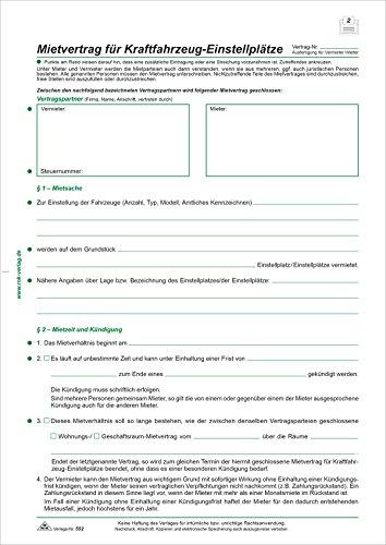RNK 552/10 Kaufverträge und Mietverträge Mietvertrag A4 10 Stück