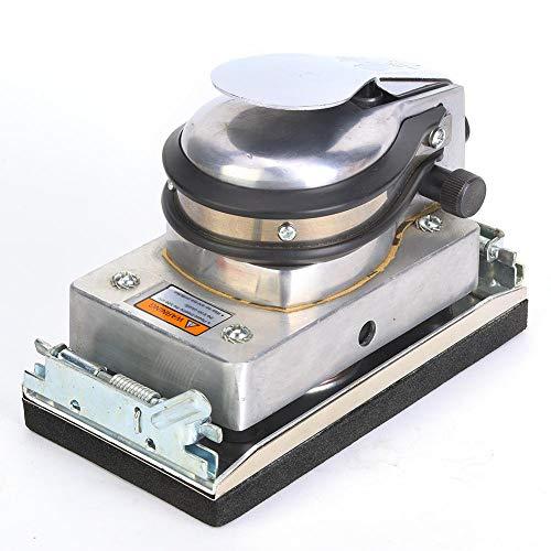 Máquina neumática de lijado cuadrado Máquina pulidora Lijadora neumática Herramienta de pulido para muebles de metal Producto de madera