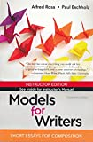 Models for Writers: Short Essays for Composition - 13e (Instructor Edition)