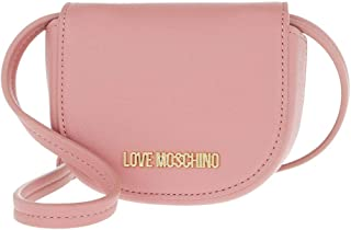 Love Moschino Tracolla PU Pochette Donna JC5401PP1BLM0 621 Rosa Scuro