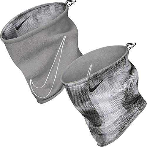 Nike Reversible 2.0 - Scaldacollo grigio fumo/nero/bianco. Taglia unica