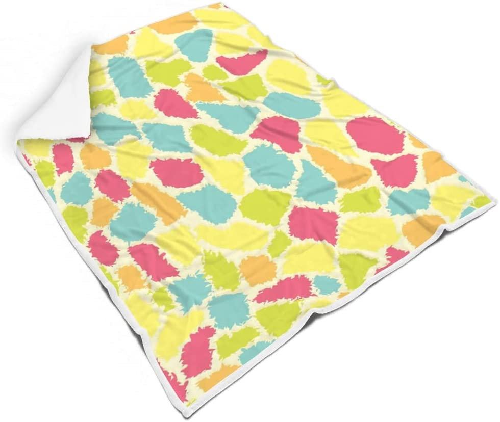 Rtisandu Square Blanket Giraffe Phoenix [Alternative dealer] Mall Texture Soft Super Cozy