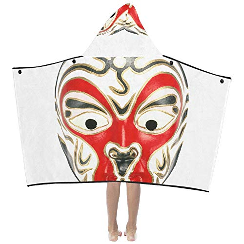 Mantas niños Máscaras chinas ópera Pekín Manta