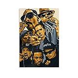 LIULANG Dr DRE Snoop Dogg Eminem Ice Cube Poster dekorative