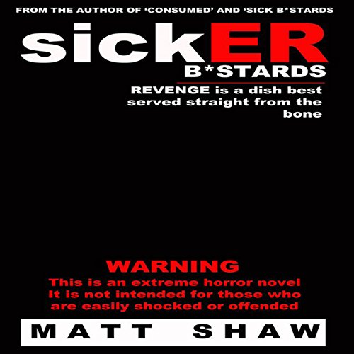 SickER Bastards audiobook cover art