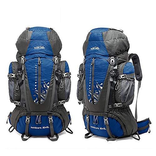 Modische Herren und Damen Großraumrucksack 85L Außenhandel Bergsteigertasche Outdoor-Rucksack Freizeitgepäck
