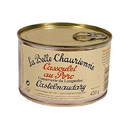 Cassoulet au Porc - Bohneneintopf mit Schweinefleisch La Belle Chaurienne, 420g