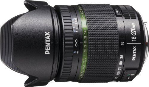 PENTAX 高倍率ズームレンズ DA18-270mmF3.5-6.3ED SDM Kマウント APS-Cサイズ 21497