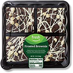 Fresh Brand – Frosted Brownie, 12 oz (4 ct)