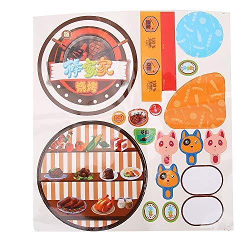 Sdfafrreg Mini Juguetes de Barbacoa de Juego de Cocina, Juguetes duraderos de Barbacoa para niños, para niños pequeños
