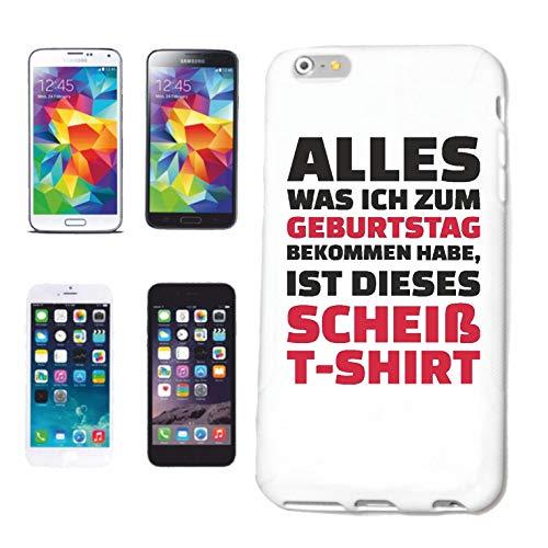 Helene telefoonhoes compatibel met iPhone 6 Alles wat ik voor een verjaardag ontvangt, is dit shirt T-shirt jongenssieraden leuke shirt party stemmend