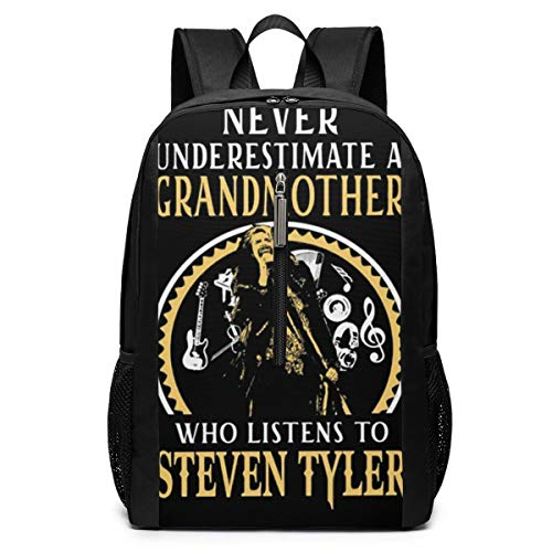 NOT Steven Tyler Grandmother Grandmother Who Listens to Steven Tyler Funny Child Canvas with Complete Lining.