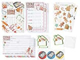 Cookie Exchange Party Kit, Includes Invitations, Voting Ballots, Recipe Cards, Gift Tags. and...