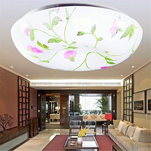 BRIGHTLLT Plafonnier conduit simple salle ronde moderne atmosphère salle de séjour lampe restaurant allée balcon escalier éclairage, 260mm