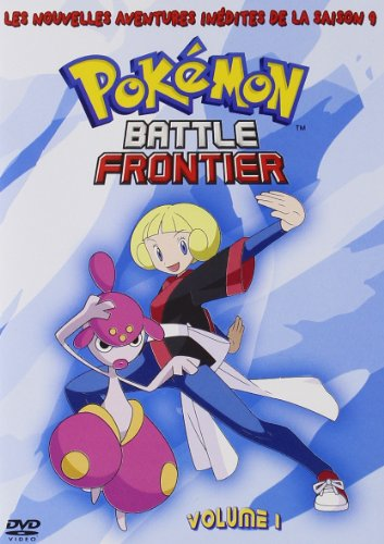 Les Pokemon: Battle Frontier - Saison 9 - volume 1 - 4 episodes