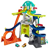 Fisher-Price Little People Launch and Loop Raceway Vehicle Playset