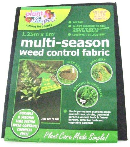 1,25m x 1m Tissu anti mauvaises herbes toutes saisons Durable