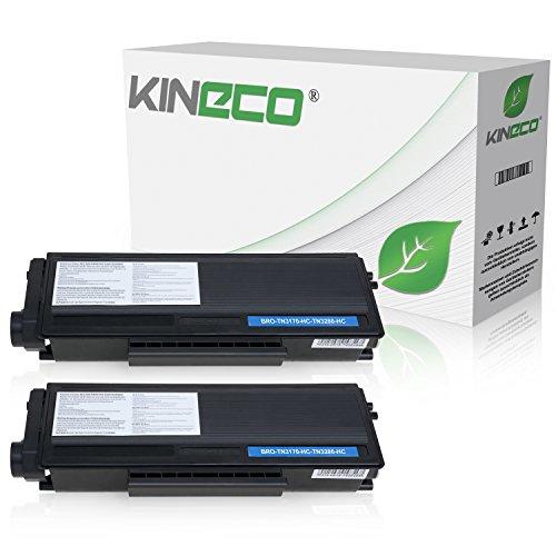 Kineco 2 Toner kompatibel für Brother TN-3280 HL-5340 DL HL-5350DN 5370 5380 D DN DNLT DN 2 LT DW W DW DWLT Praxis
