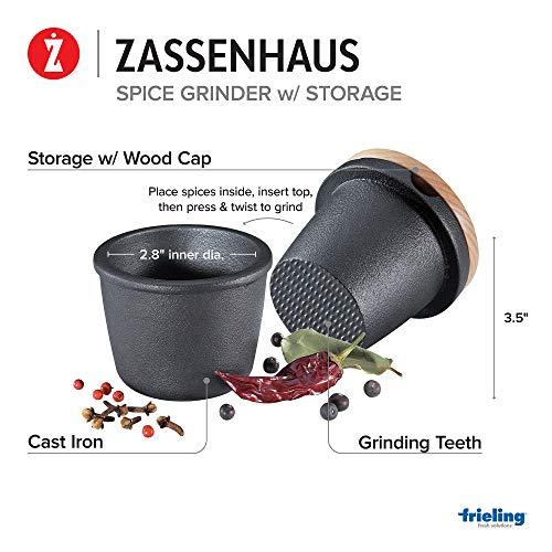 Zassenhaus gusseiserne Reibe
