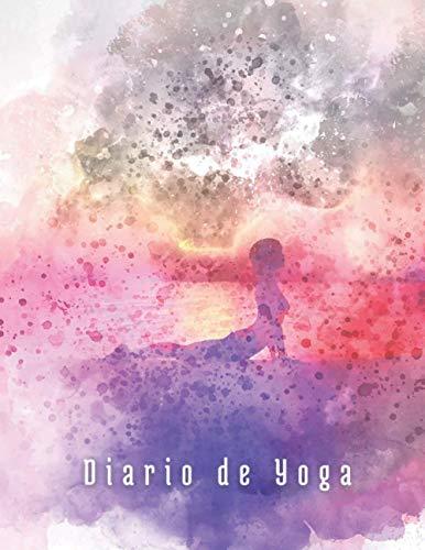 DIARIO DE YOGA: Cuaderno de registro y seguimiento de tus sesiones de meditación: fecha, lugar, posiciones, chakras... | Conecta el cuerpo, la respiración y la mente | Mindfulness | Mujer.