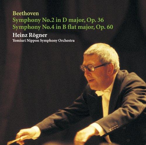 ベートーヴェン:交響曲第2番、第4番