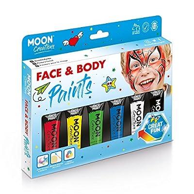 Gesichts & Körperfarbe Primärfarben