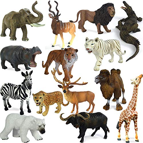 Learning Resources 72 pz. Figurine di Animali della Giungla Wild About Animals