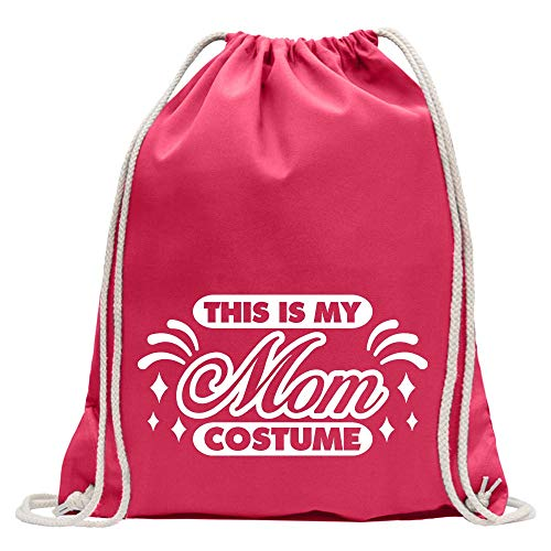 Kiwistar This is My Mom Costume - Mochila de deporte, de algodón, con correa, rosa, Talla única