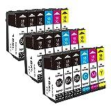 Kamo Cartuchos de tinta compatibles con Epson 18 18XL para Epson Expression Home XP-202 XP-205 XP-212 XP-215 XP-225 XP-30 XP-305 XP-312 XP-315 XP-322 XP-325 XP-405 XP-412 XP-415 XP-422 425