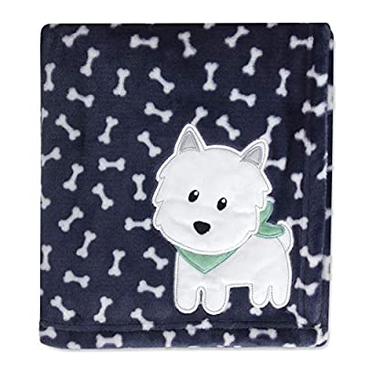 Baby Essentials Plush Fleece Throw and Receiving Baby Blankets for Boys and Girls
