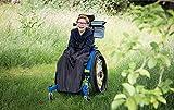 Saco infantil para sillas de ruedas y cochecitos pediátricos - Negro