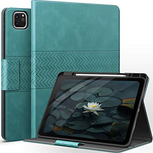 auaua iPad Pro 12.9 Case 2021/2020/2018 with Pencil Holder, Auto...