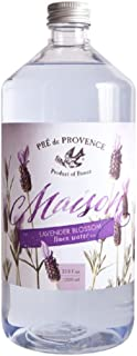 Pre De Provence Maison French Lavender Blossom Linen Water Refill Bottle for Ironing or Fragrance