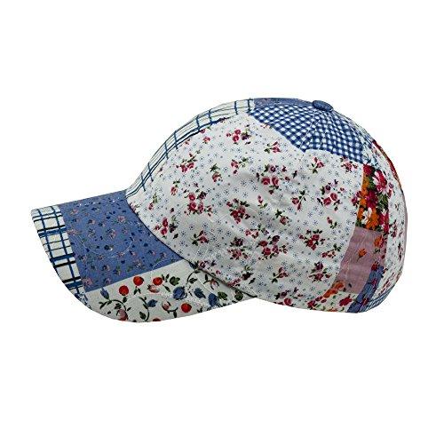 Wegener Mädchen Baseball Cap Schirmmütze Sommermütze in Blau Gr. 50