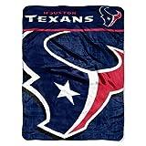 NFL Houston Texans 'Livin Large' Micro Raschel Throw Blanket, 46' x 60'