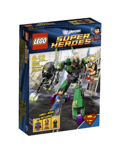 LEGO Myself Super Heroes 6862: Superman vs. Power Armor LEX