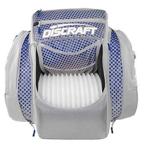 Discraft Grip EQ BX2 Backpack Disc Golf Bag - Gray/Blue