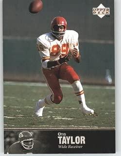 1997 Upper Deck Legends Football Card # 173 Otis Taylor - Kansas City Chiefs - NFL Trading Card