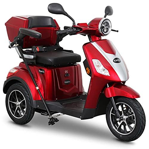 Rolektro E-Trike 25 V.2 Dreirad Rot -...