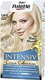 Palette Intensiv Creme Coloration Permanenter Aufheller, Haarfarbe Platin Blond L9-0, 3er Pack (3 x...