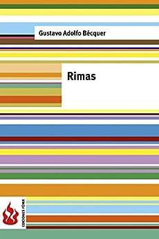 Rimas: (Low cost). Edición limitada (Spanish Edition) by [Gustavo Adolfo Bécquer]