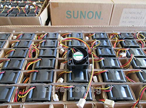 1x Quiet Replacement Sunon Fan for Nortel 5520-48T-PWR 12dBA Noise Best for HomeNetworking