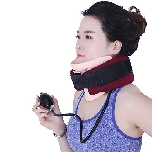 JZQY Aparato De Tracción Cervical Dispositivo, para Cervicales Collarín Cervical Dispositivo Hombro Dolor Relajarse Soporte Cabeza