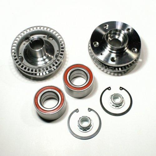 2 x Radnabe + 2 x Radlagersatz mit ABS Sensorring vorne