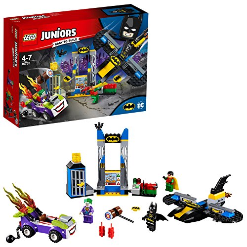LEGO Juniors - Ataque de The Joker a la batcueva (10753