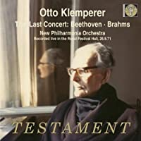 Last Concert: Beethoven & Brahms by VARIOUS ARTISTS (2008-09-09)