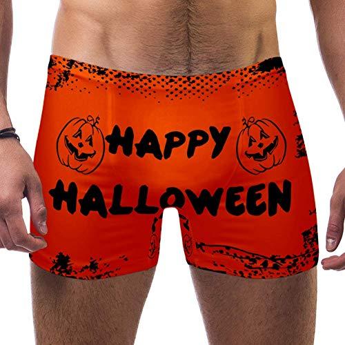 DragonSwordlinsu - Bañador para Hombre, diseño de Calzoncillos de Halloween