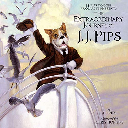 The Extraordinary Journey of J.J. Pips cover art
