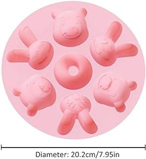 Molde De Silicona Molde De Arroz con Leche De Dibujos Animados Suplemento De Alimentos para Bebés
