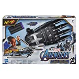 Nerf Power Moves Marvel Avengers Black Panther-Kralle, Nerf Dart-Abschuss Spielzeug für Kinder,...